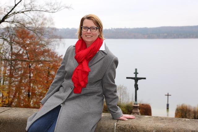 Unsere Landratskandidatin Christiane Kern.  Foto: Christiane Kern